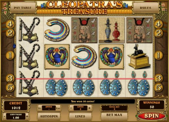Cleopatra's Treasure screenshot
