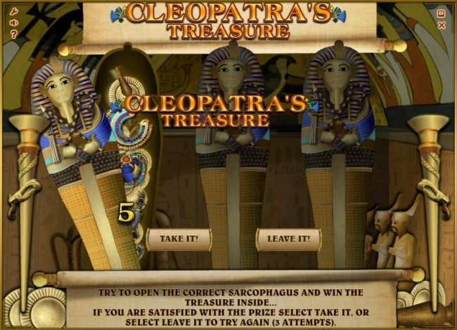 Images of Cleopatra's Treasure