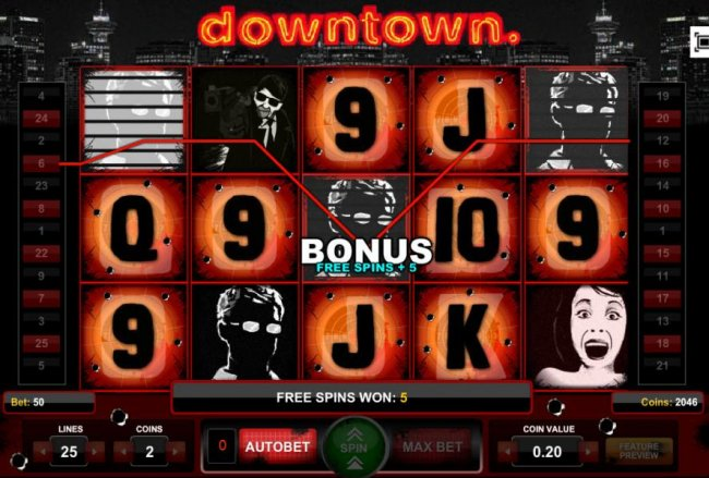 Downtown by Free Slots 247