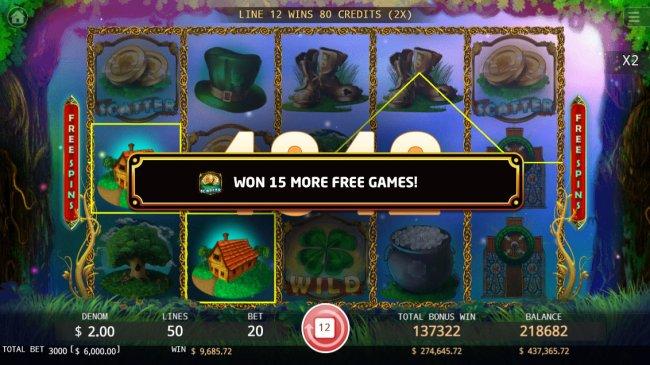 Free Spins Retriggered - Free Slots 247