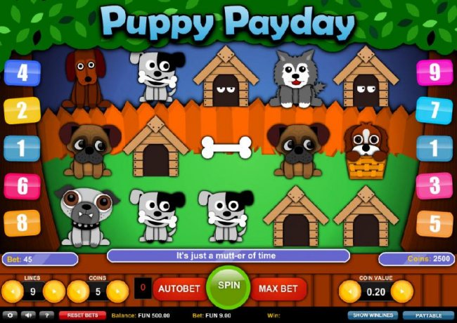 Puppy Payday by Free Slots 247