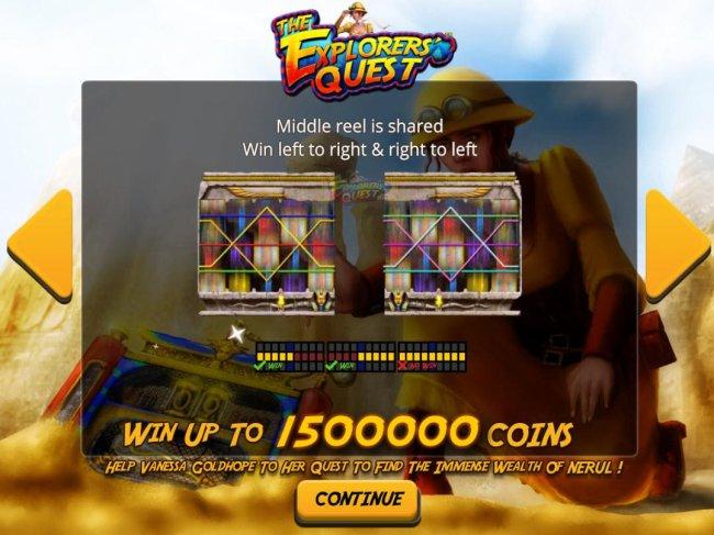 Casino Bonus Lister image of The Explorers' Quest