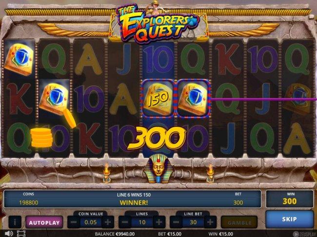Casino Bonus Lister - A pair of winning paylines.
