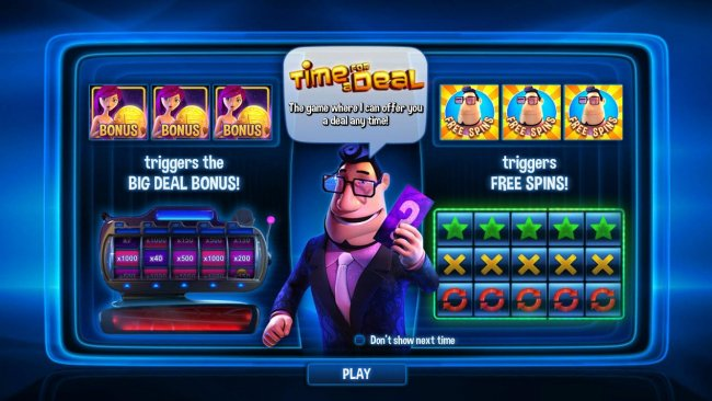 Casino Bonus Lister image of Time for a Deal