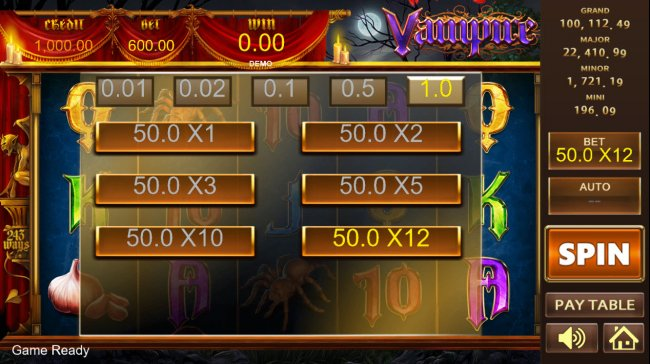 Vampire by Free Slots 247