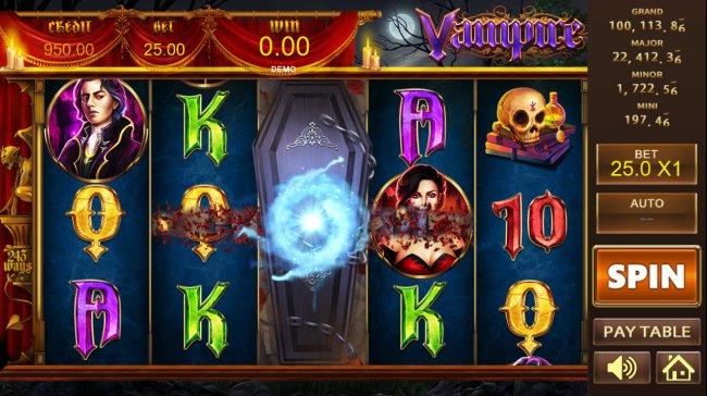 Vampire screenshot