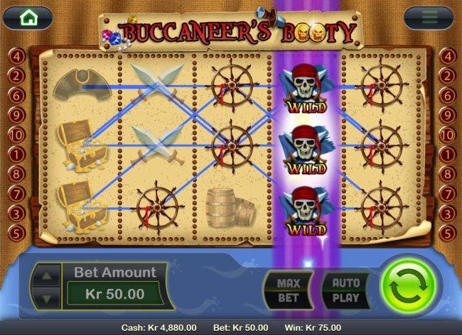 Buccaneer's Bounty by Free Slots 247