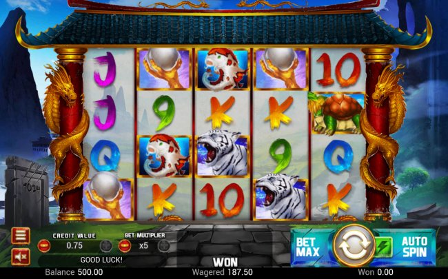 Main Game Board - Free Slots 247