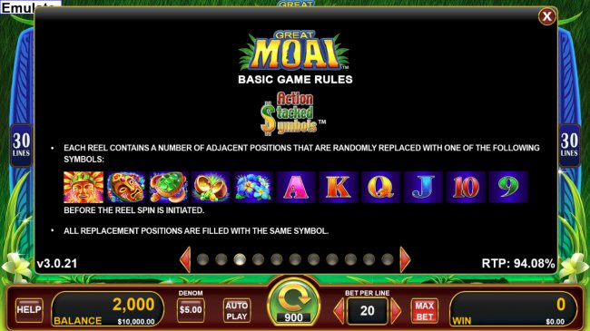 Great Moai screenshot