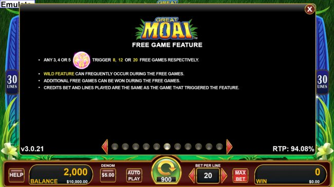 Free Slots 247 - Scatter Symbol Rules