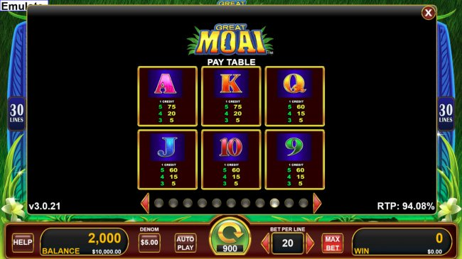 Free Slots 247 image of Great Moai
