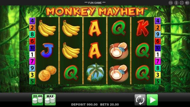 Monkey Mayhem screenshot