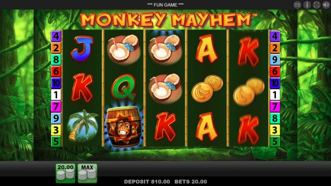 Free Slots 247 - Landing barrel symbol on the reels activates wild feature
