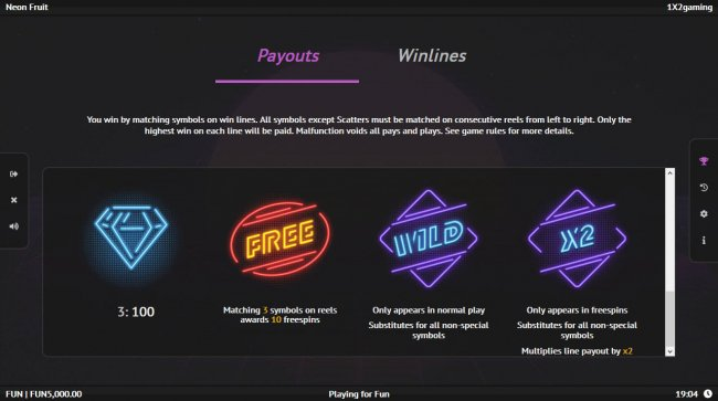 Wild and Scatter Symbol Rules - Free Slots 247