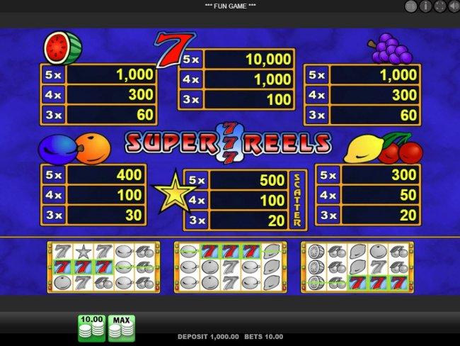 Super 7 Reels screenshot