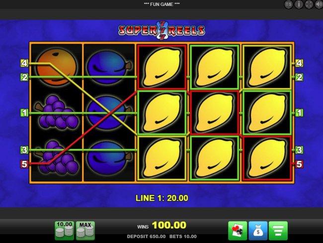 Free Slots 247 image of Super 7 Reels