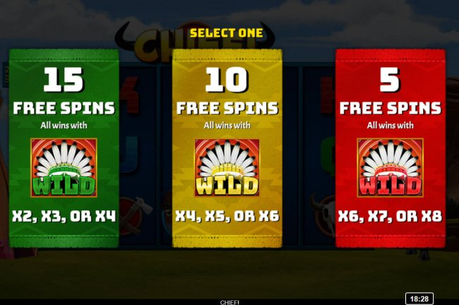 Pick your free spins feature by Free Slots 247