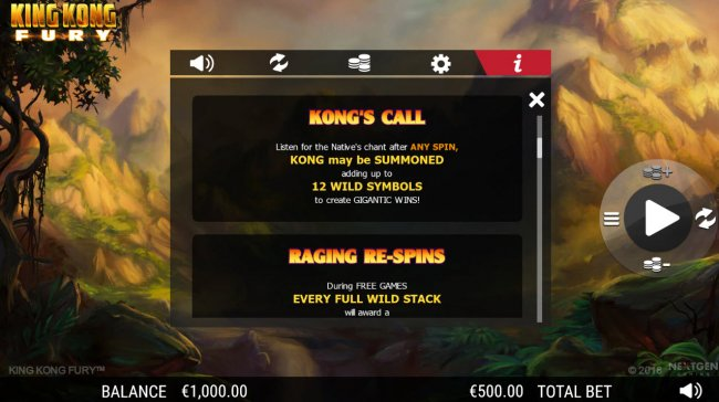 Kongs Call Rules by Free Slots 247