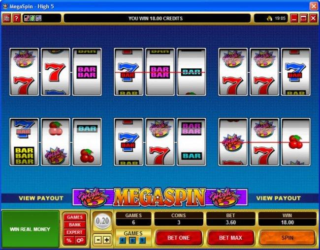 MegaSpin - High 5 screenshot