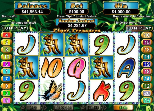 Free Slots 247 image of Tiger Treasures