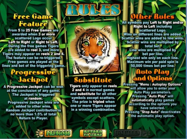 Images of Tiger Treasures