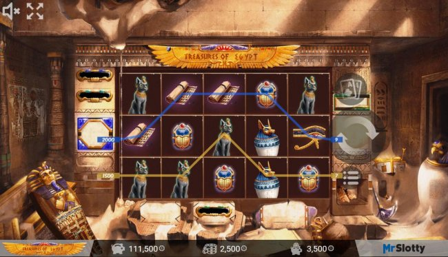 Treasures of Egypt by Free Slots 247