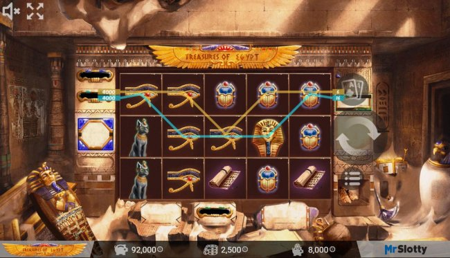 Treasures of Egypt screenshot