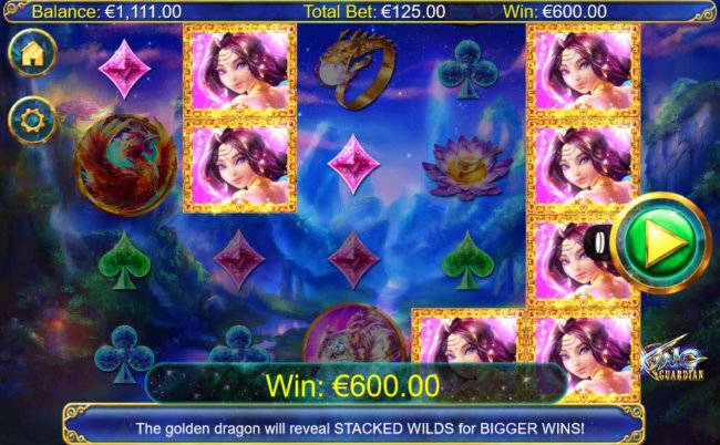 A 600.00 big win triggered by multiple winning combinations. by Free Slots 247