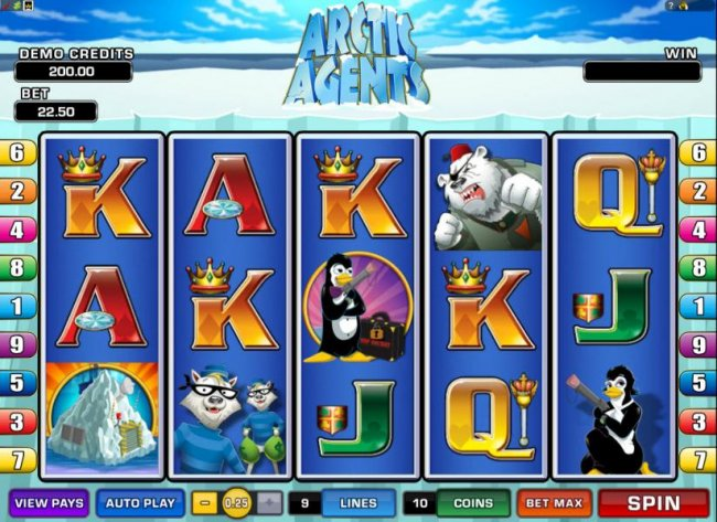 Free Slots 247 image of Arctic Agents