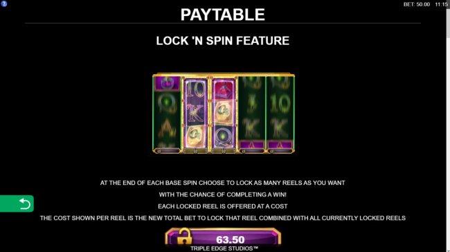 Book of Oz Lock 'N Spin screenshot