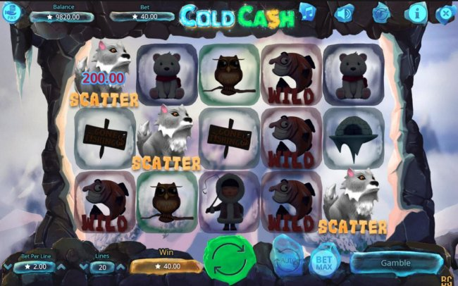 Three scatter symbols appearing anywhere on the reels triggers the Free Games feature. - Free Slots 247
