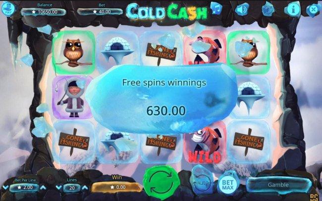 Cold Cash screenshot