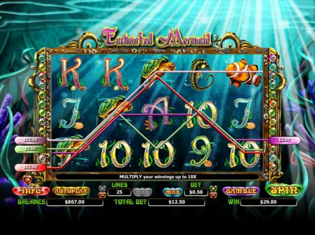 Free Slots 247 image of Enchanted Mermaid
