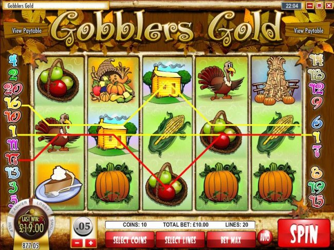 Gobbler's Gold by Free Slots 247