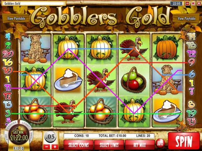 Free Slots 247 image of Gobbler's Gold