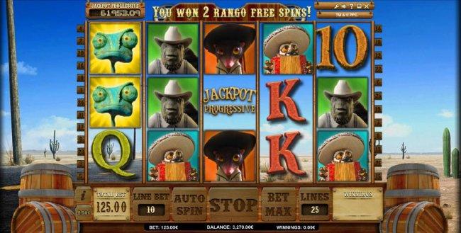 Jackpot Rango screenshot
