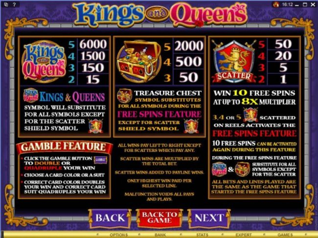 Main game board featuring five reels and 20 paylines with a $1,500 max payout - Free Slots 247