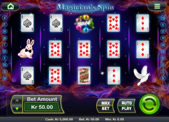 Magician's Spin by Free Slots 247