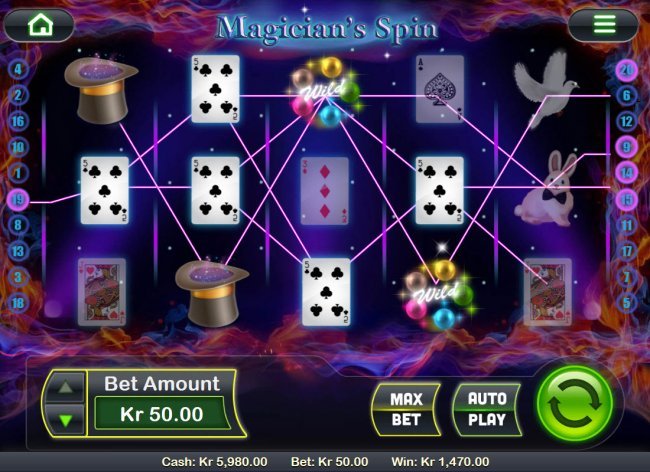Free Slots 247 image of Magician's Spin