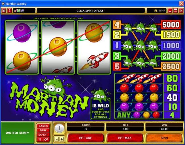 Martian Money screenshot