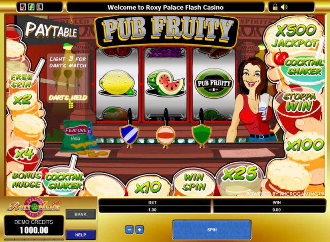 main game board featuring 3 reels and one payline - Free Slots 247