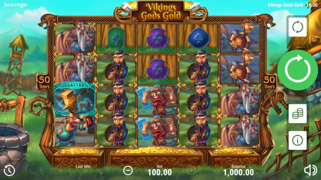 Viking's Gods Gold by Free Slots 247