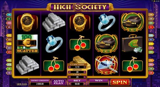 Free Slots 247 image of High Society