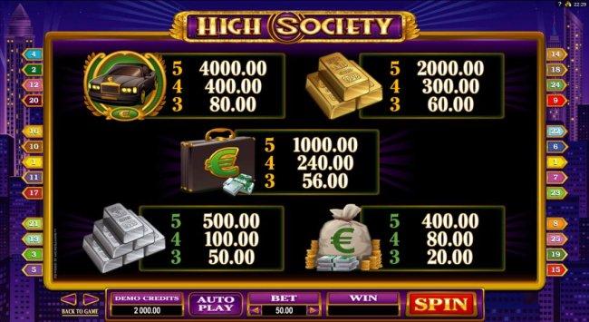 High Society by Free Slots 247