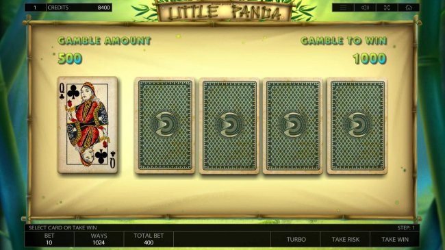 Gamble Feature Game Board by Free Slots 247