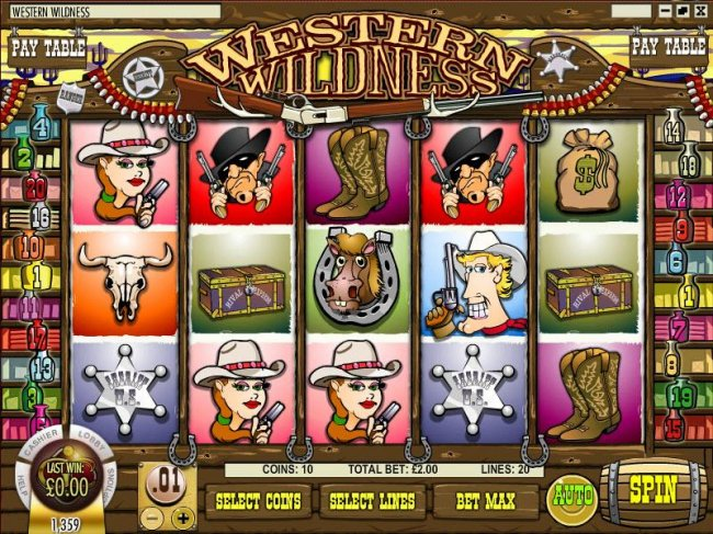 Free Slots 247 image of Western Wildness