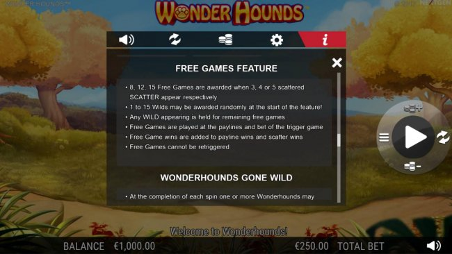 Wonder Hounds by Free Slots 247