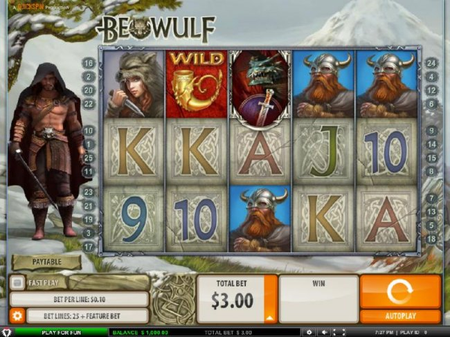 Free Slots 247 image of Beowulf