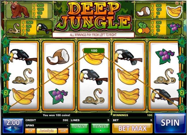 Free Slots 247 image of Deep Jungle