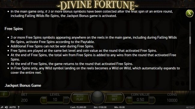 Free Slots 247 image of Divine Fortune